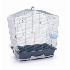Lily 50 Bird Cage in Silver