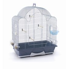 Melodie 50 Bird Cage in Silver