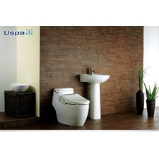 USPA Advanced Elongated Toilet Seat Bidet