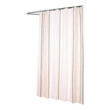 Ashley Extra Long Fabric Polyester Shower Curtain