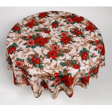 Christmas Floral Tablecloth