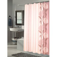Chelsea Extra Long Polyester Fabric Shower Curtain