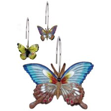 Mariposa Shower Curtain Hooks (Set of 12)