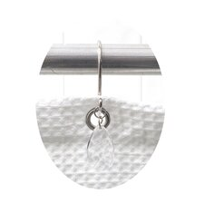 <strong>Carnation Home Fashions</strong> Prism Shower Curtain Hooks (Set of 12)