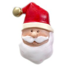 Santa Claus Resin Holiday Shower Curtain Hook (Set of 12)
