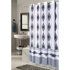 Ez On Harlequin Fabric Shower Curtain