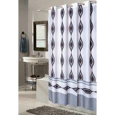 Ez On Harlequin Fabric Shower Curtain