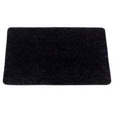 "Animal Instincts ""Sable"" Faux Fur Bath Mat"