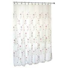 <strong>United Curtain Co.</strong> Loretta Polyester Shower Curtain