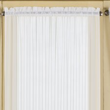 Batiste Full Door Rod Pocket Curtain Single Panel
