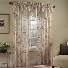 <strong>United Curtain Co.</strong> Chantelle Panel and Triple Ascot Window Treatment Collection