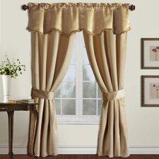 Burlington Rod Pocket  Curtain Five Pieces