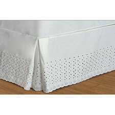 <strong>United Curtain Co.</strong> Vienna Eyelet Bed Skirt