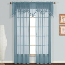 <strong>United Curtain Co.</strong> Monte Carlo Scalloped Window Treatment Collection
