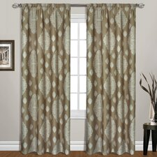 <strong>United Curtain Co.</strong> Belvedere Rod Pocket Curtain Single Panel