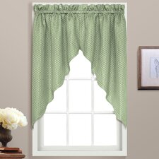 Hamden Rod Pocket Swag Curtain Valance