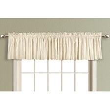 <strong>United Curtain Co.</strong> Anna Straight Curtain Valance