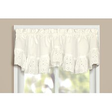 Vienna Rod Pocket Ruffled Curtain Valance