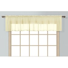 <strong>United Curtain Co.</strong> Batiste Curtain Valance