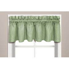 <strong>United Curtain Co.</strong> Hamden Rod Pocket Tailored Curtain Valance