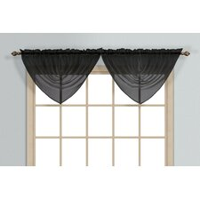 <strong>United Curtain Co.</strong> Monte Carlo Waterfall Curtain Valance