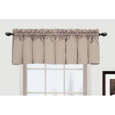 "Metro Rod Pocket Tailored 54"" Curtain Valance"