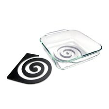 Zebra Double Trivet Set