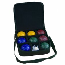 <strong>Park & Sun</strong> Pro Attachè Bocce Ball Game Set