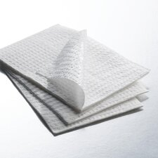 "3-ply Tissue/Polyback 13.5""x18"" Polybacked Towel"