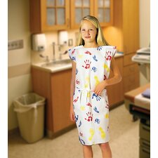 "20"" x 36"" Exam Gowns Fabri-Soft Pediatric Tiny Tracks®"