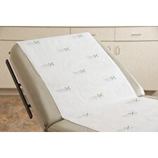 Inhibx™ Antimicrobial Exam Table Paper Roll in White