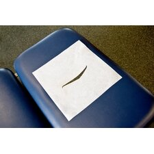 <strong>Graham Medical</strong> Chiropractic Headrest Papers with Face Slot in White