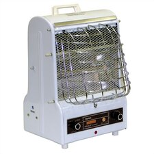<strong>TPI</strong> 1,500 Watt Radiant Cabinet Combination Forced Space Heater