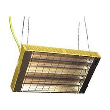 Suspended Quartz Tube Infrared Ceiling Mount Space Heater