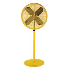 "<strong>TPI</strong> 24"" Heavy Duty Yellow Air Circulator"