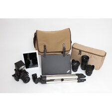 Camera, Laptop, and Ipod Messenger Bag