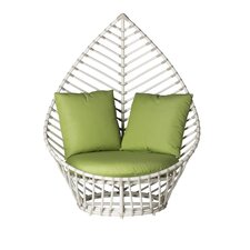 Palm Lounge Chair with Cushions