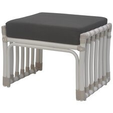 <strong>David Francis Furniture</strong> Laguna Ottoman with Cushion