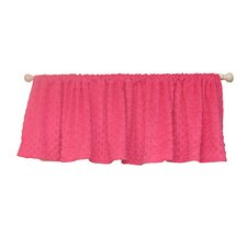 Hot Pink Zebra Curtain Valance