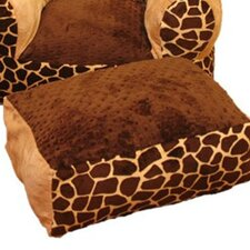 <strong>Ozark Mountain Kids</strong> Giraffe Ottoman