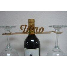 """Laser Cut """"VINO"""" 2-Stem Bottle Topper"""