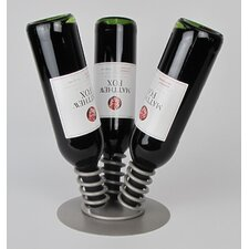 3 Bottle Tabletop Wine Display Rack