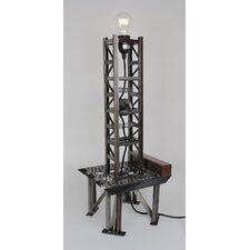 "Gas Well 25"" H Table Lamp"