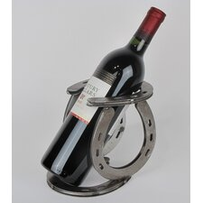 Horseshoe Tabletop Wine Rack