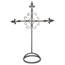 Fleur Des Lis Table Cross