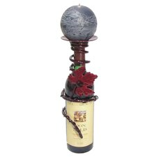 Iron Grapevine Bottle Topper