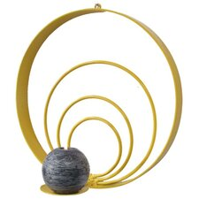<strong>Metrotex Designs</strong> Girly Chic Large Concentric Circles Wall Candle Sconce