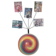 Girly Chic Tie Dye Peace Sign Wall Photo Bubble