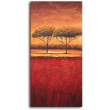 Slice of African Treescape Original Painting on Canvas