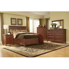 <strong>Mastercraft Collections</strong> Simply Shaker Storage Panel Bedroom Collection